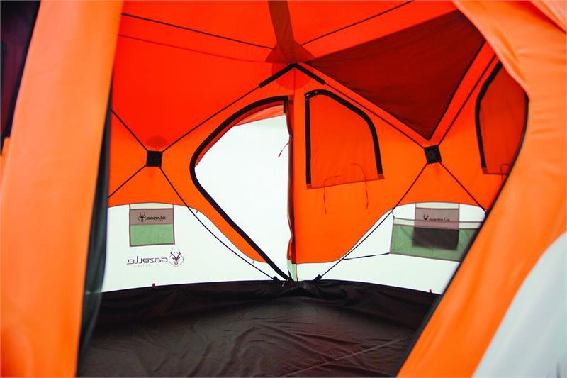 22272 Feature Loaded Gazelle Pop Up Quick Tent