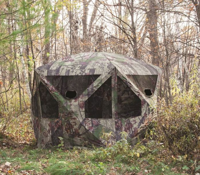 Pt550bw Pentagon Hunting Blind 5 Sided 4 Man