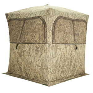 Gr351bb Grounder 350 Hunting Blind With Bloodtrail Blades Camo